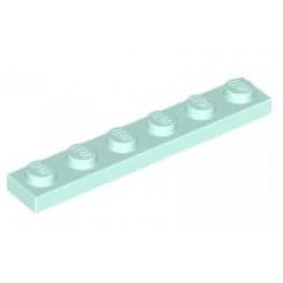 LEGO 1 x 6 Plate Light Aqua