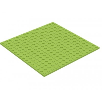 LEGO 16 x 16 Plate Lime