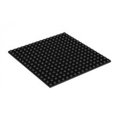 LEGO 16 x 16 Plate Black