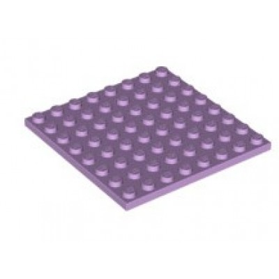 LEGO 8 x 8 Plate Lavender