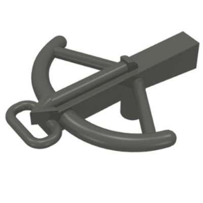 LEGO Crossbow (Dark Grey)