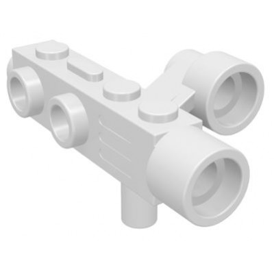 LEGO Space Gun / Camera With Side Sight - White