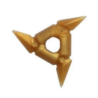 LEGO Throwing Star (Pearl Gold)