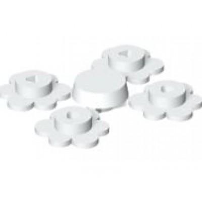 LEGO Flowerhead White