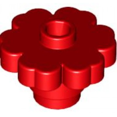 LEGO Flower Red (Solid)