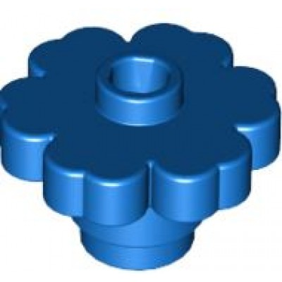 LEGO Flower Blue (Solid)