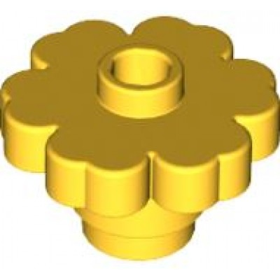 LEGO Flower Yellow (Solid)