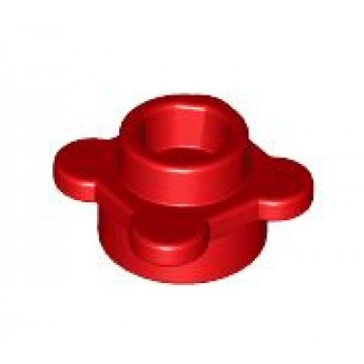 LEGO Flower Plate Red