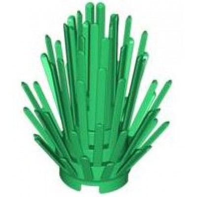 LEGO Prickly Bush Green
