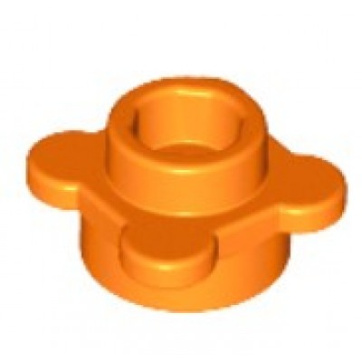 LEGO Flower Plate Orange
