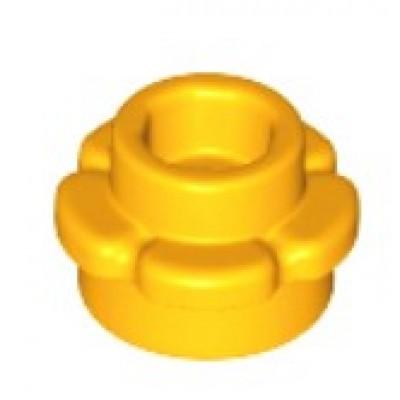 LEGO Flower Plate (5 Petals) Bright Light Orange