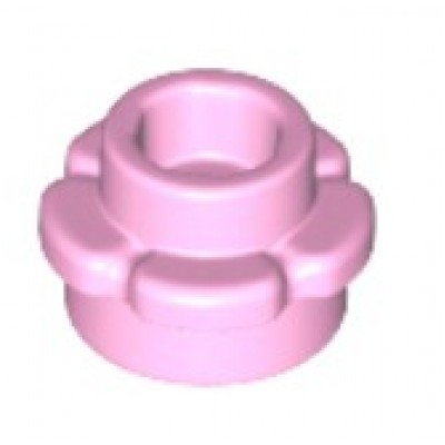 LEGO Flower Plate (5 Petals) Bright Pink