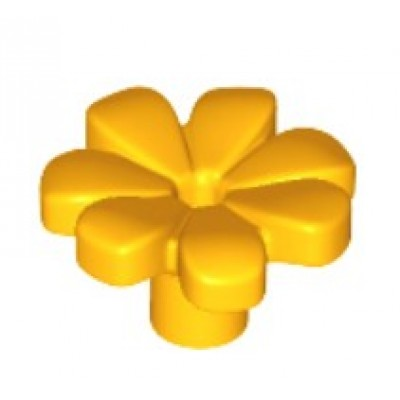 LEGO Flower - Bright Light Orange