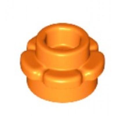 LEGO Flower Plate (5 Petals) Orange