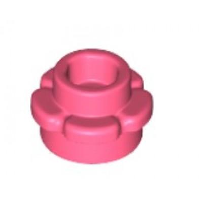 LEGO Flower Plate (5 Petals) Coral