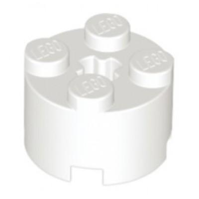 LEGO 2 x 2 Round Brick (White)