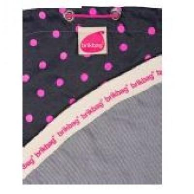 Brikbag PINK Spot Print