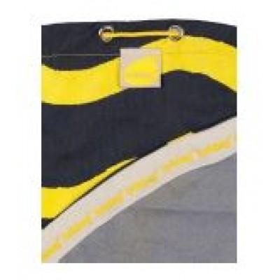 Brikbag Yellow Wave Print