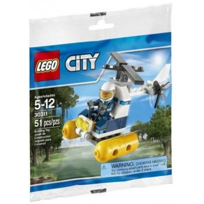 LEGO® City Swamp Police Helicopter 30311
