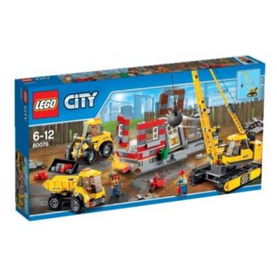 LEGO® City Demolition Site 60076