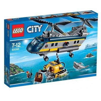 LEGO® City Deep Sea Helicopter 60093