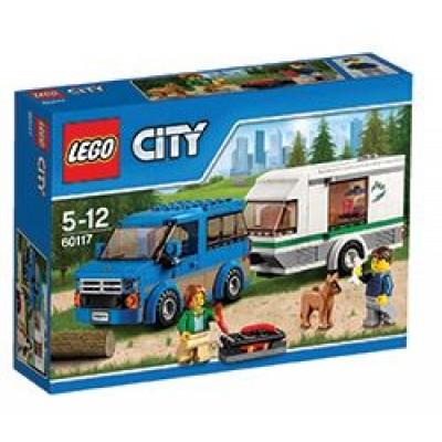 LEGO® City Van and Caravan