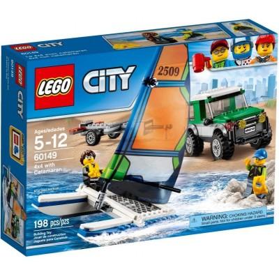 LEGO® City 4x4 with Catamaran