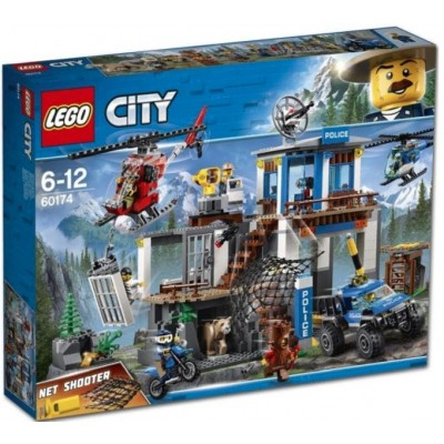 LEGO® City Mountain Police Headquarters 60174