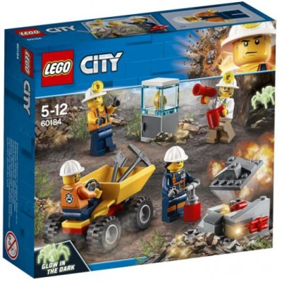 LEGO® City Mining Team 60184