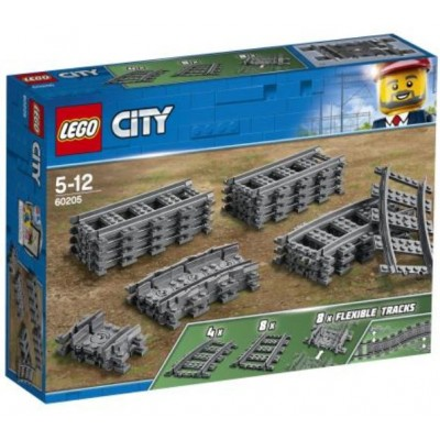 LEGO® City Train Tracks 60205