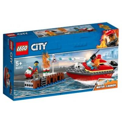 LEGO® City Dock Side Fire 60213