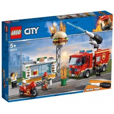 LEGO® City Burger Bar Fire Rescue 60214