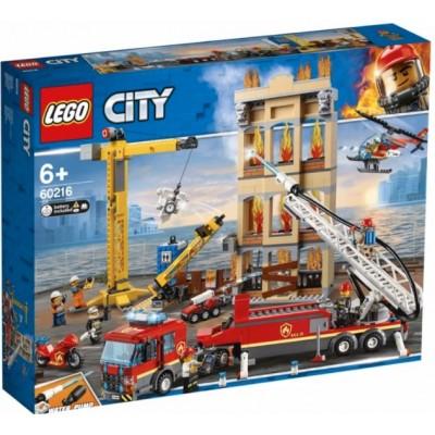 LEGO® City Downtown Fire Brigade 60216