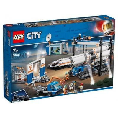 LEGO® City Rocket Assembly & Transport 60229
