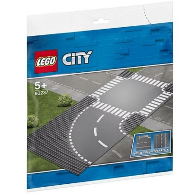 LEGO® City Curve and Crossroad 60237
