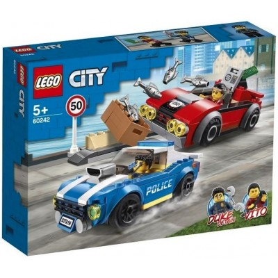 LEGO® City Police Highway Arrest 60242