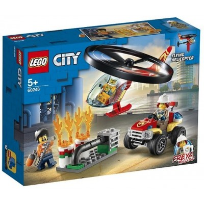 LEGO® City Fire Helicopter Response 60248