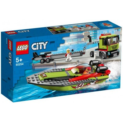 LEGO® City Race Boat Transporter 60254