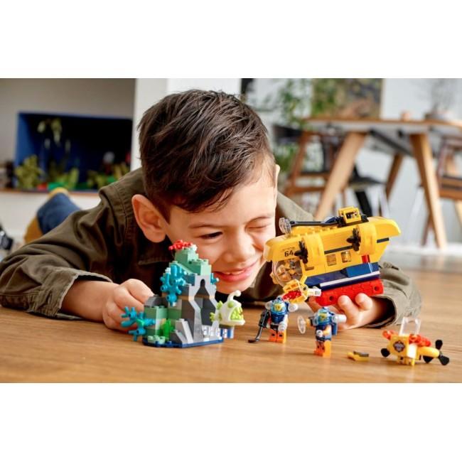 LEGO® City Ocean Exploration Submarine 60264