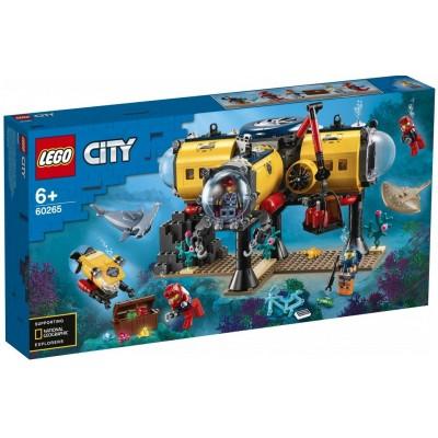 LEGO® City Ocean Exploration Base 60265