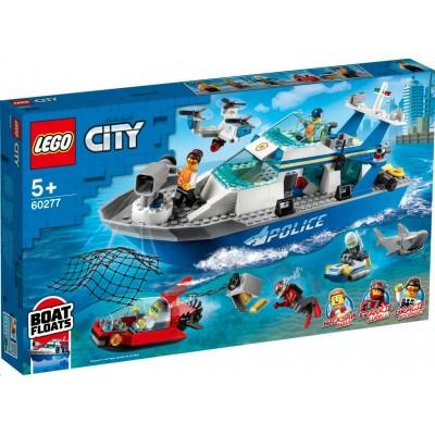 LEGO® City Police Patrol Boat 60277