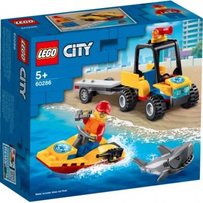 LEGO® City Beach Rescue ATV 60286