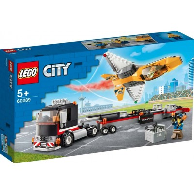LEGO® City Airshow Jet Transporter 60289