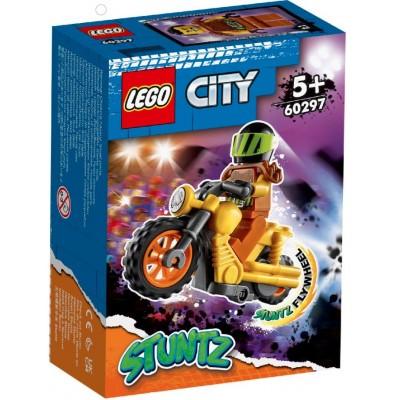 LEGO® City Demolition Stunt Bike 60297