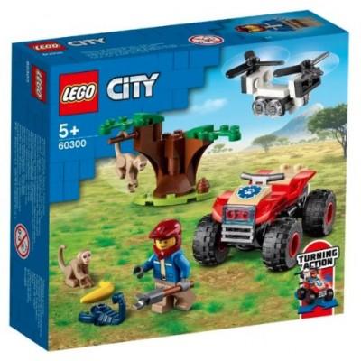LEGO® City Wildlife Rescue ATV 60300