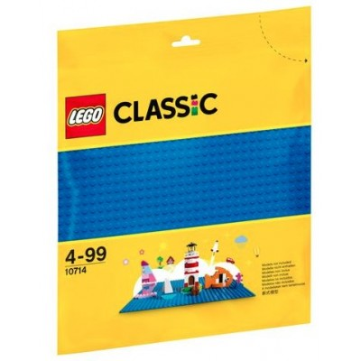 LEGO® Classic Blue Building Plate 10714