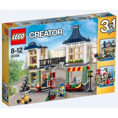 LEGO® Creator Toy & Grocery Shop 31036