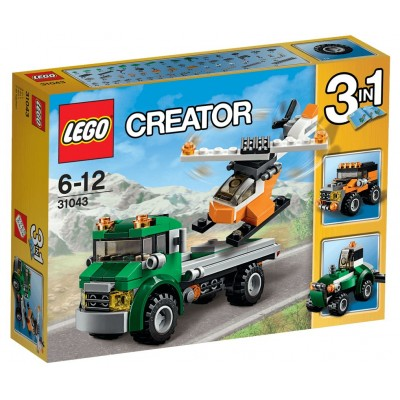 LEGO® Creator Chopper Transporter 31043