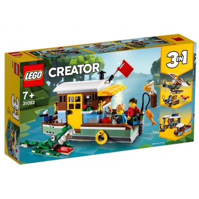 LEGO® Creator Riverside Houseboat 31093