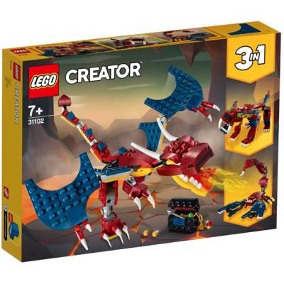 LEGO® Creator 3in1 Fire Dragon 31102